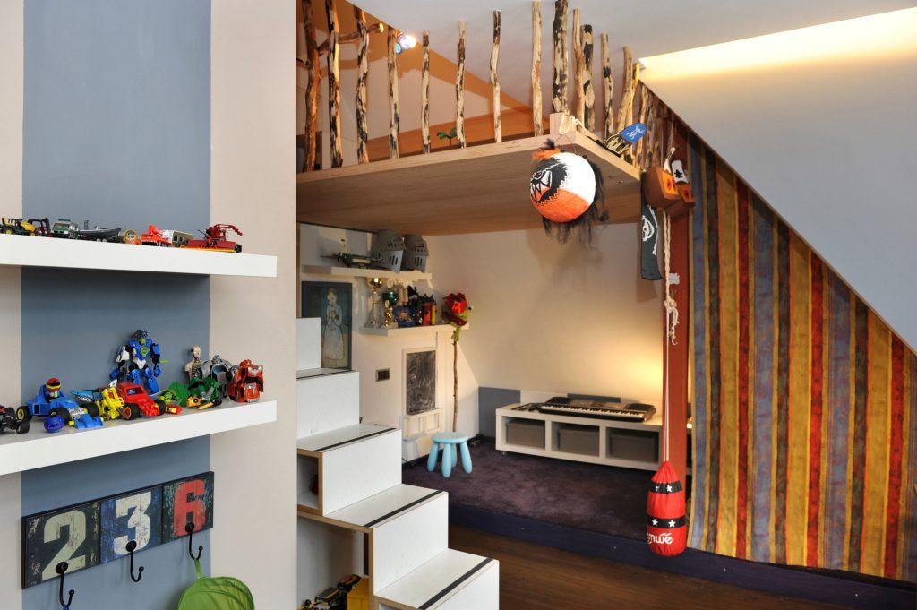 Altbau Kinderzimmer - Architekturbüro Heinz