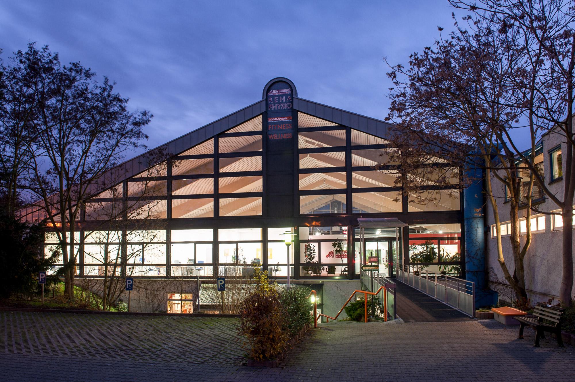 Rehazentrum Umnutzung Tennishalle
