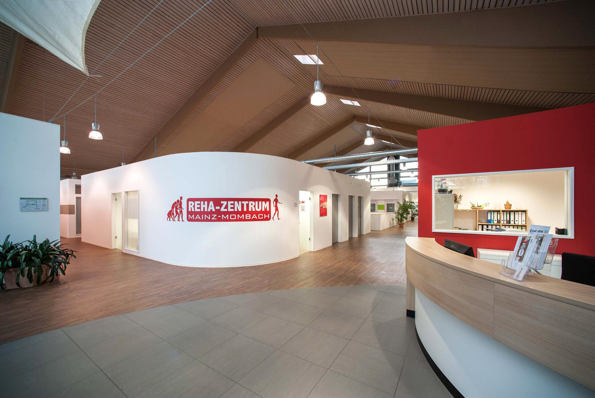 Rehazentrum Mainz Empfang