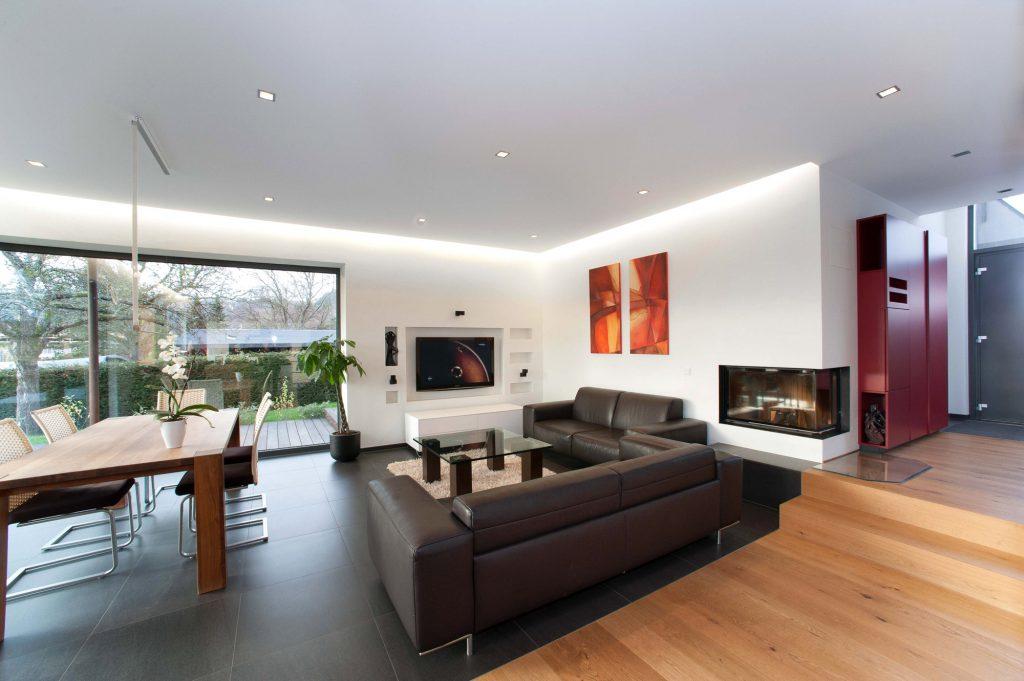 Wohnbereich Neubau Architekturbüro Heinz