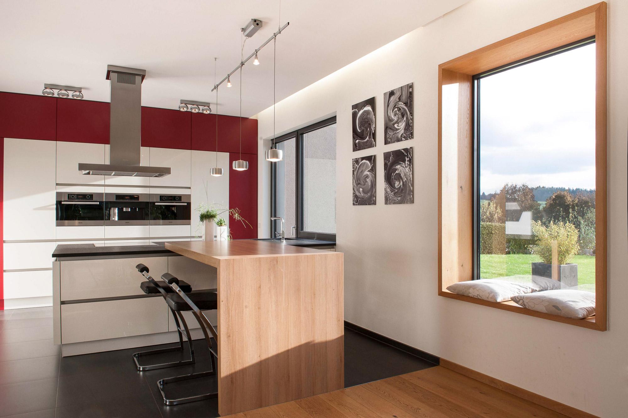 Neubau Sitzfenster Küchenbereich