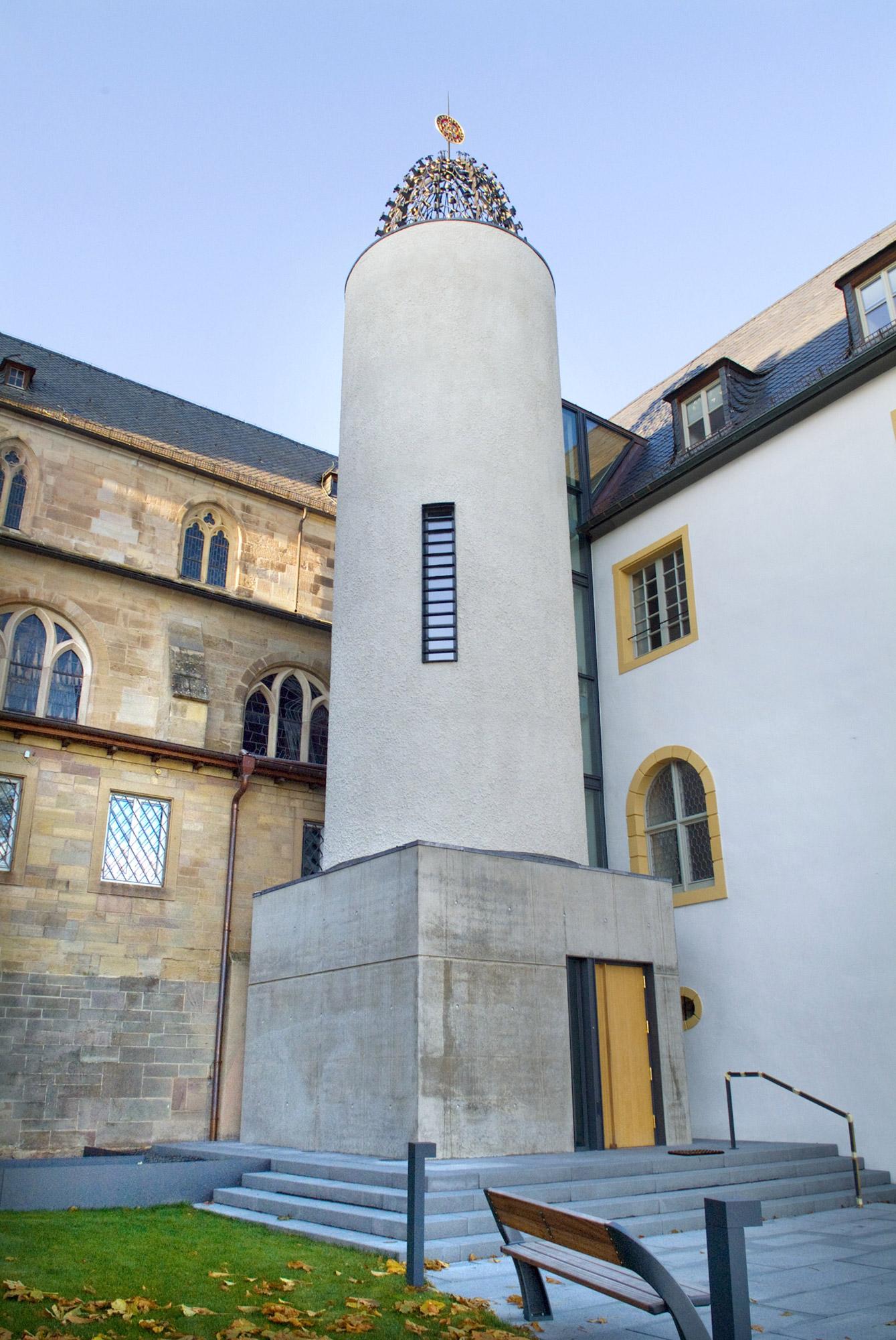 Abtei Treppenturm