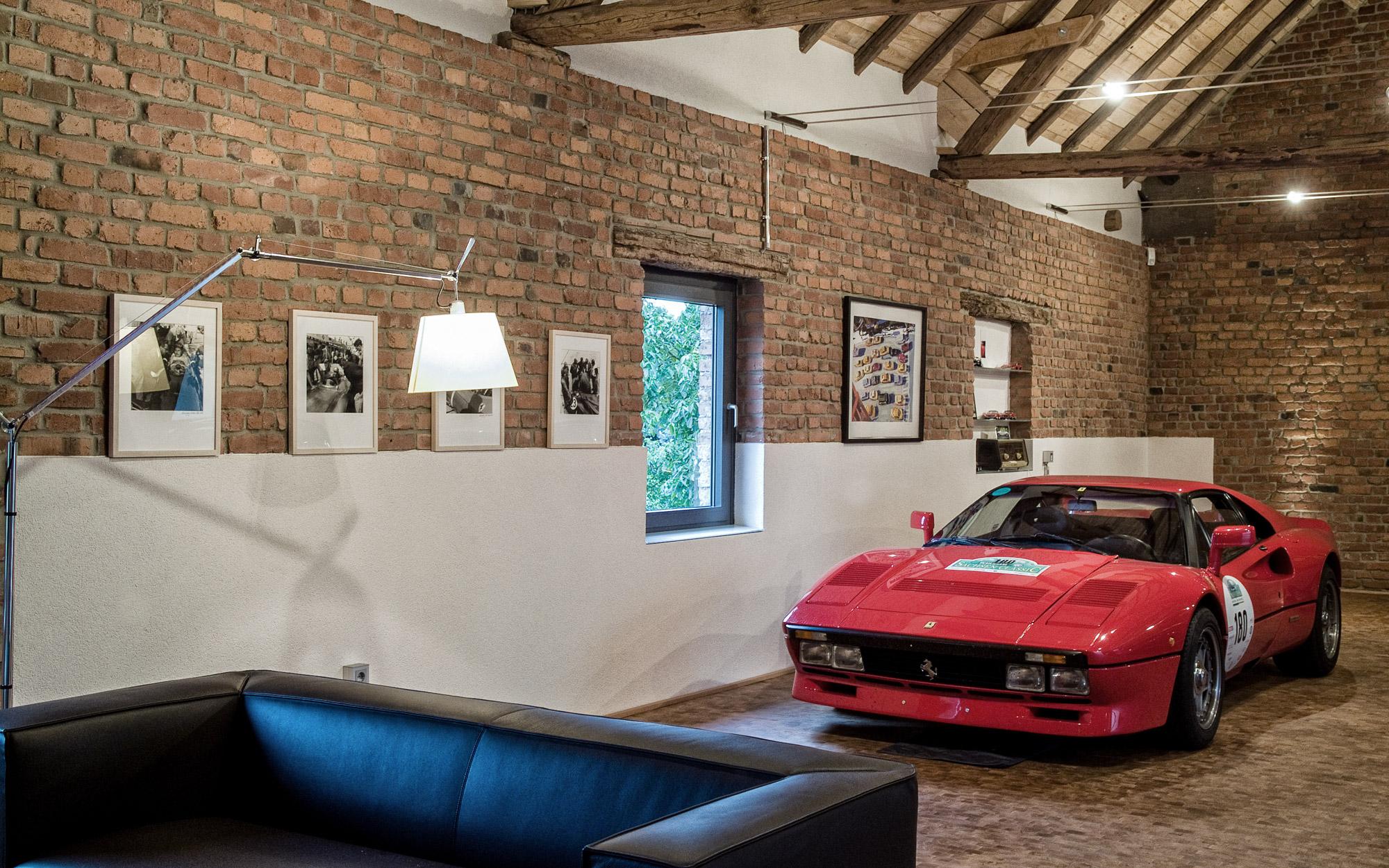 Wohnen in der Garage