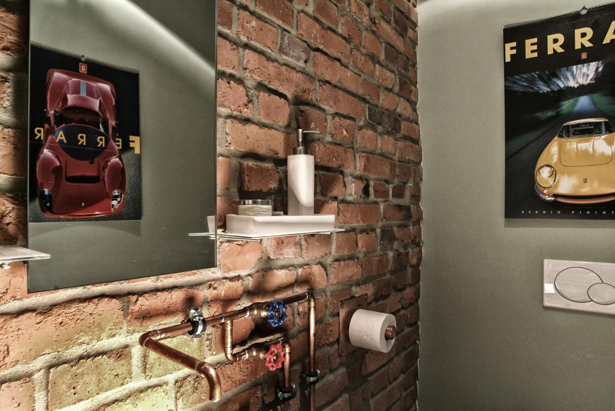 Oldtimergarage WC