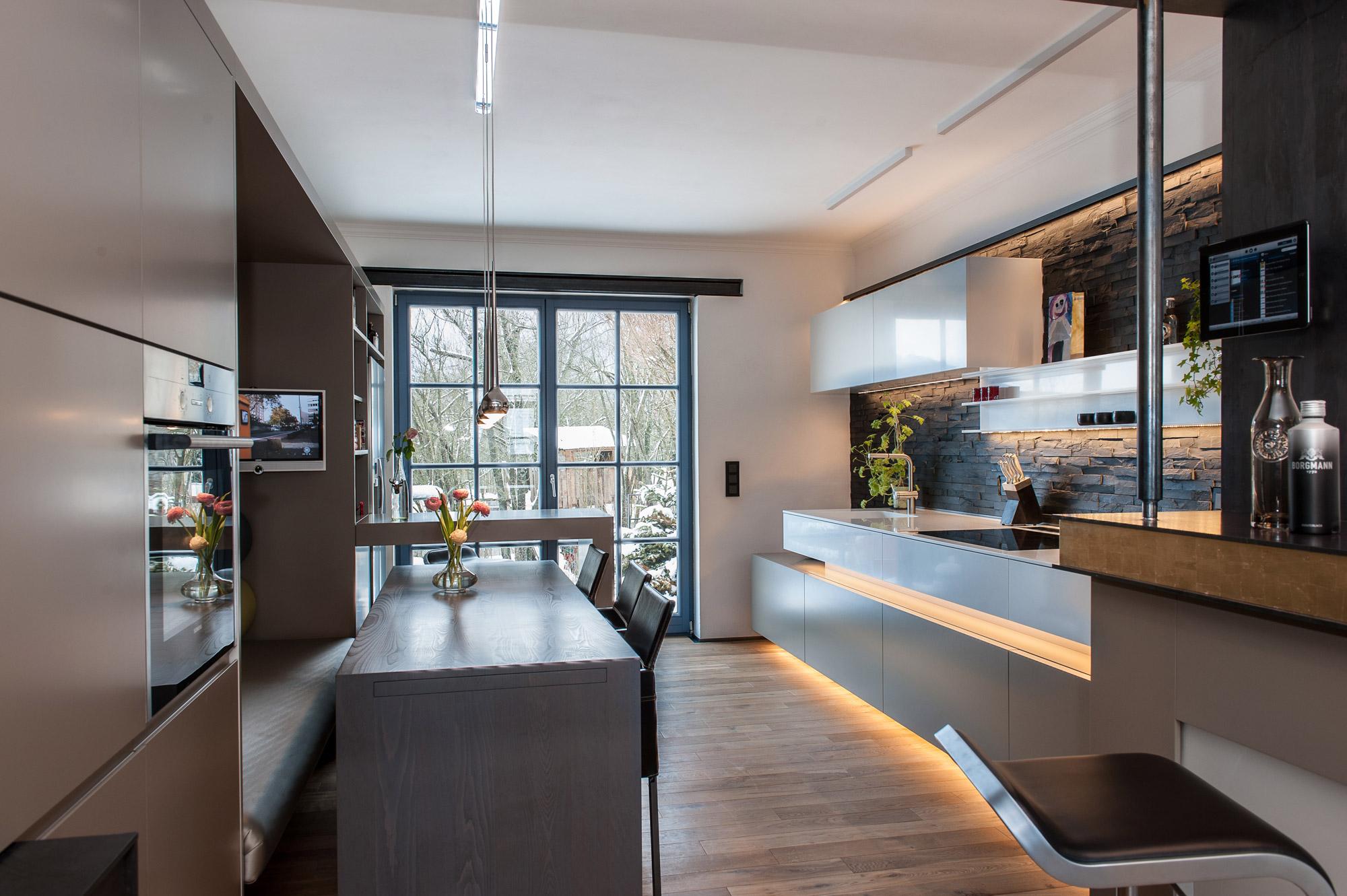 Altbausanierung Wohnküche