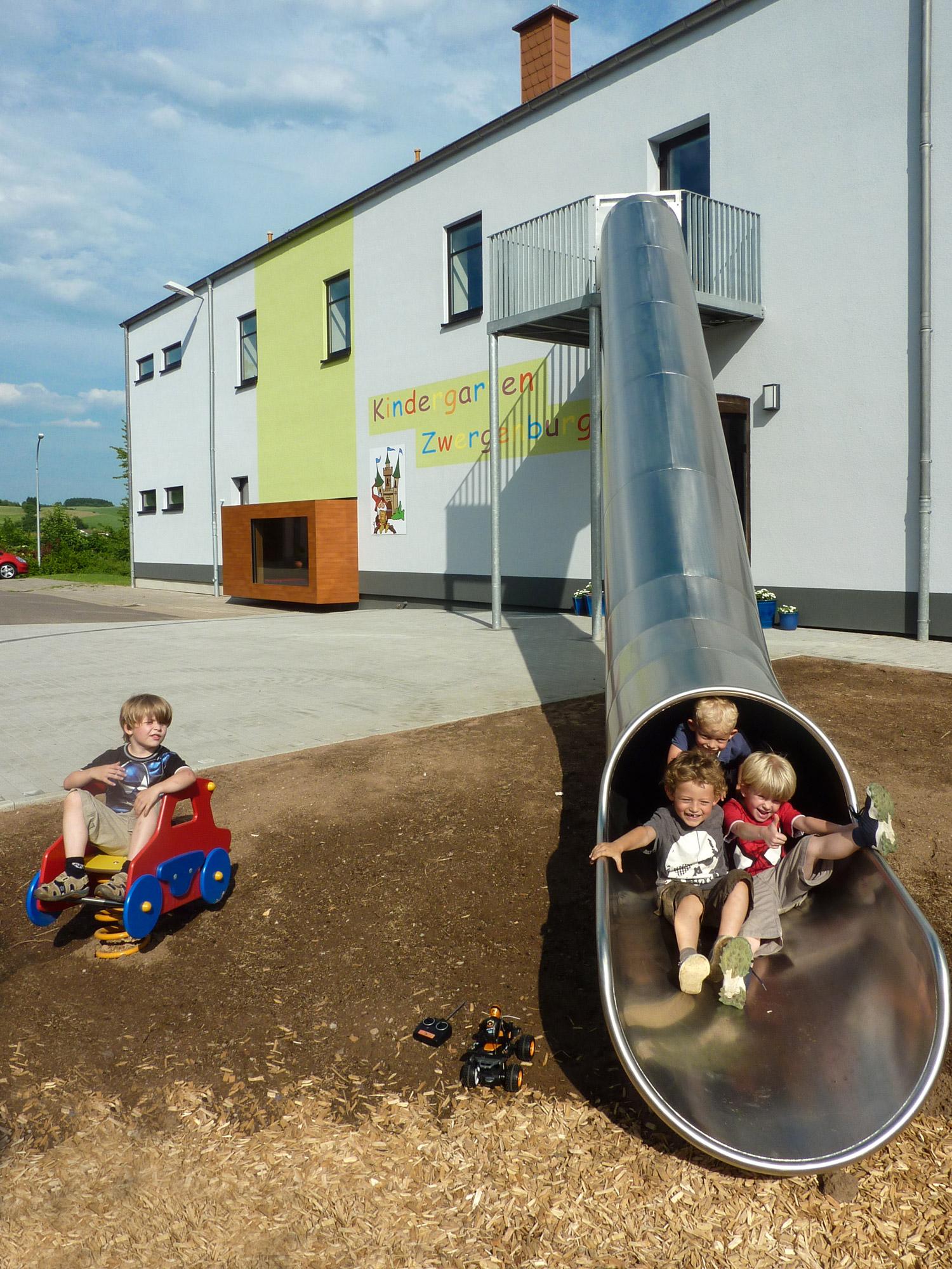 Kindergarten Sotzweiler Rettungsweg