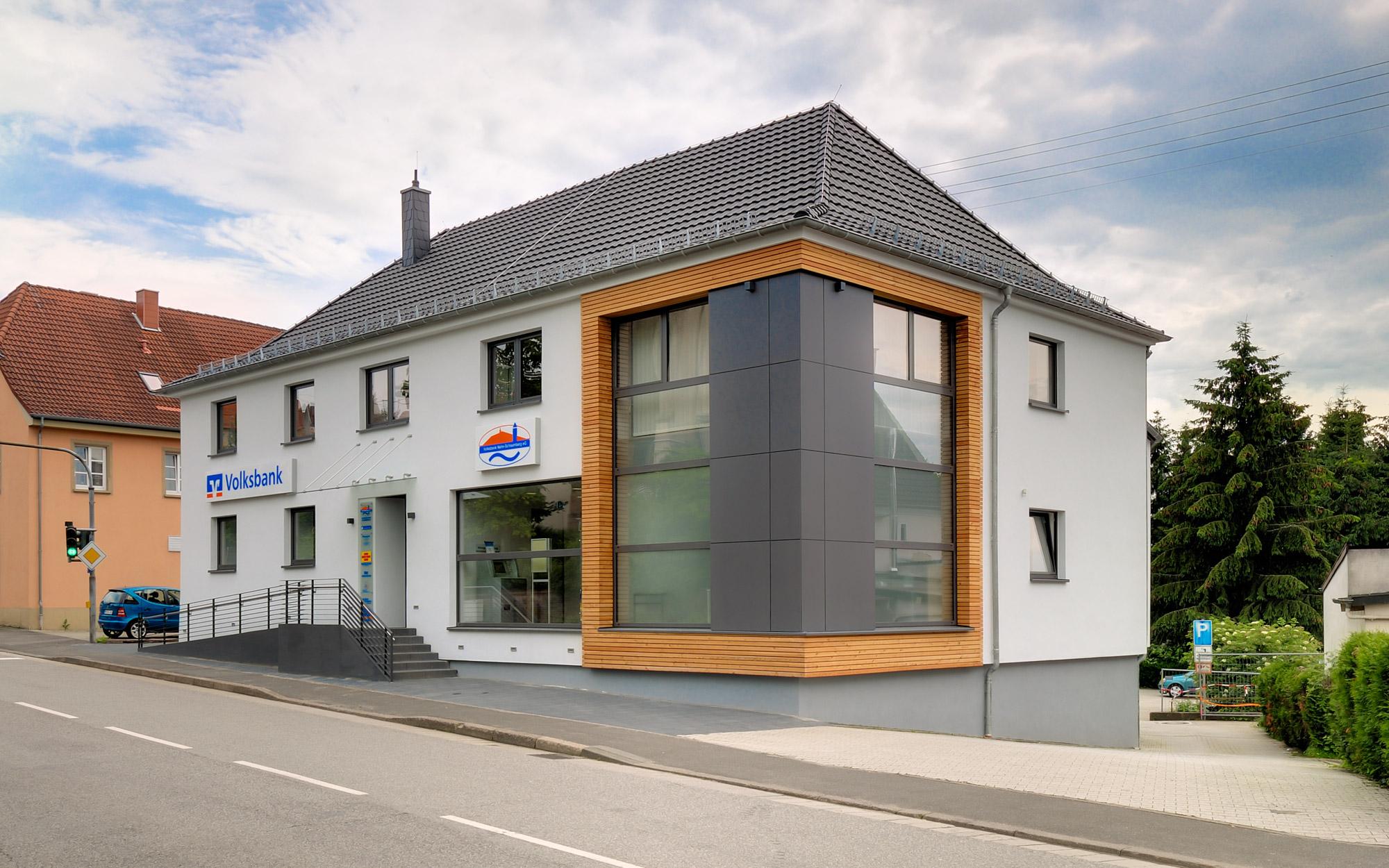 Volksbank Nahe Schaumberg Modernisierung