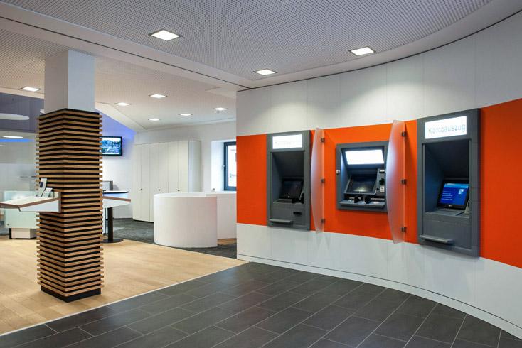 Bankgebäude Vorhalle