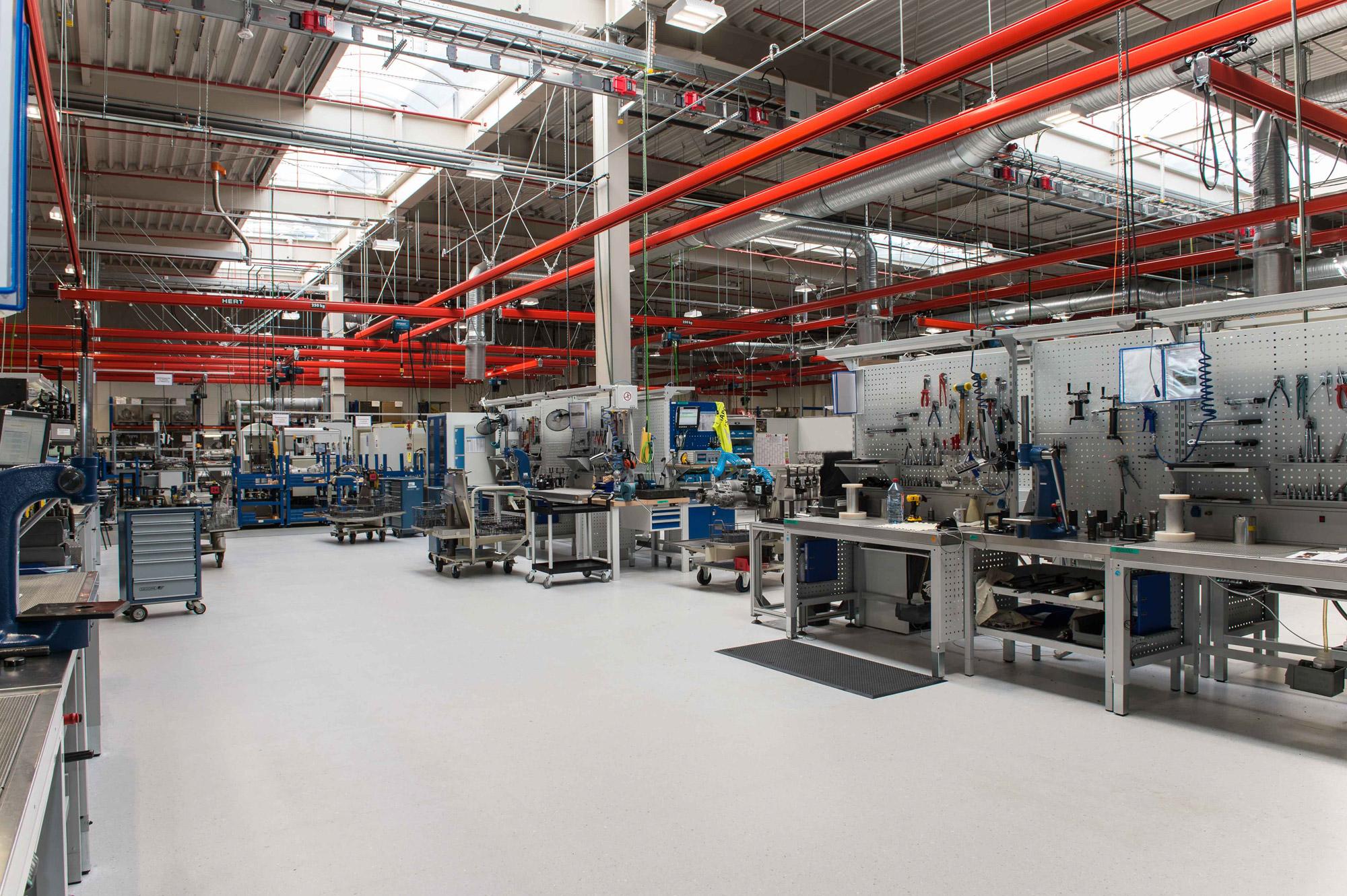 Produktionstätte ZF