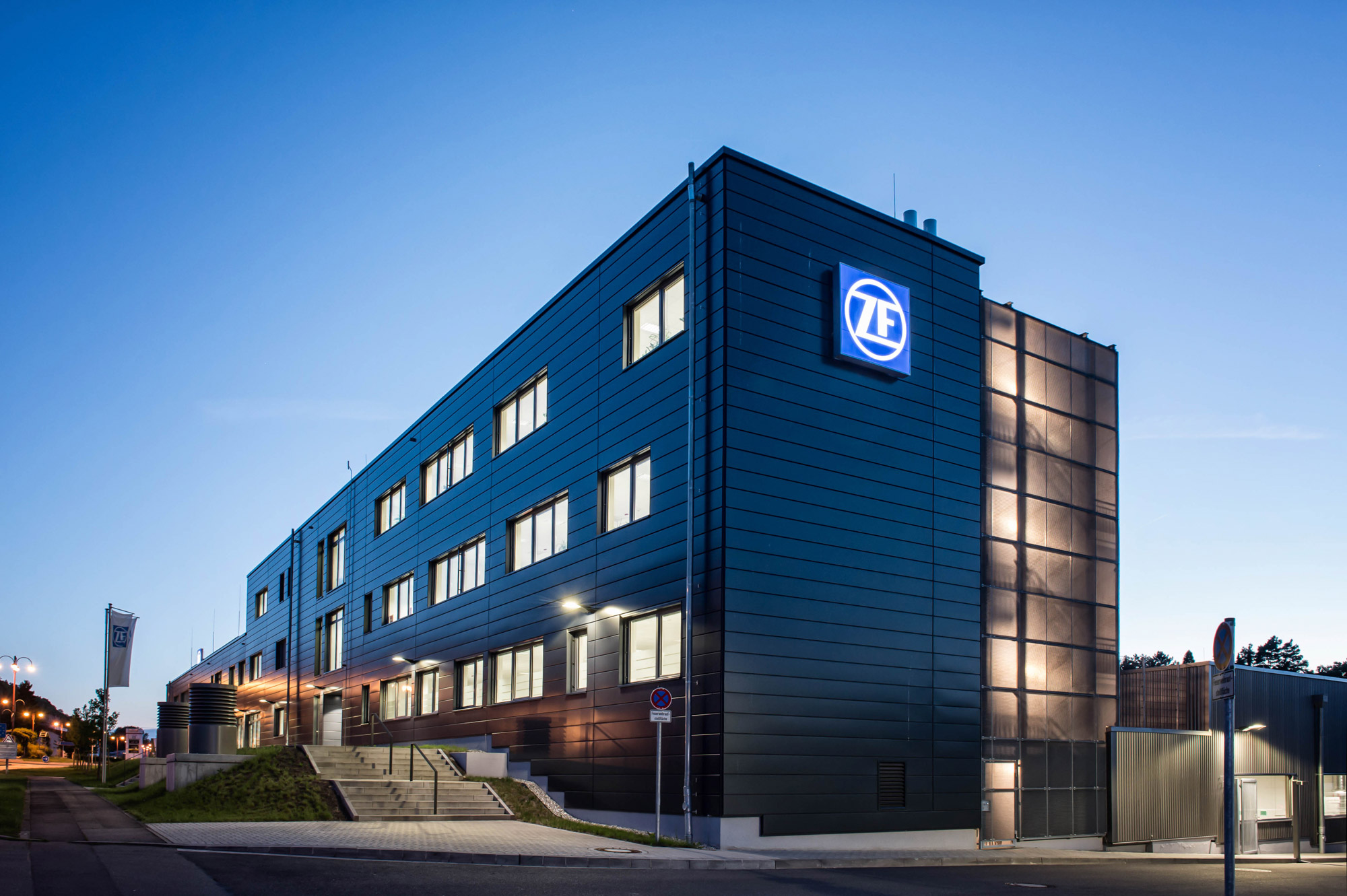 Verwaltungsgebäude ZF