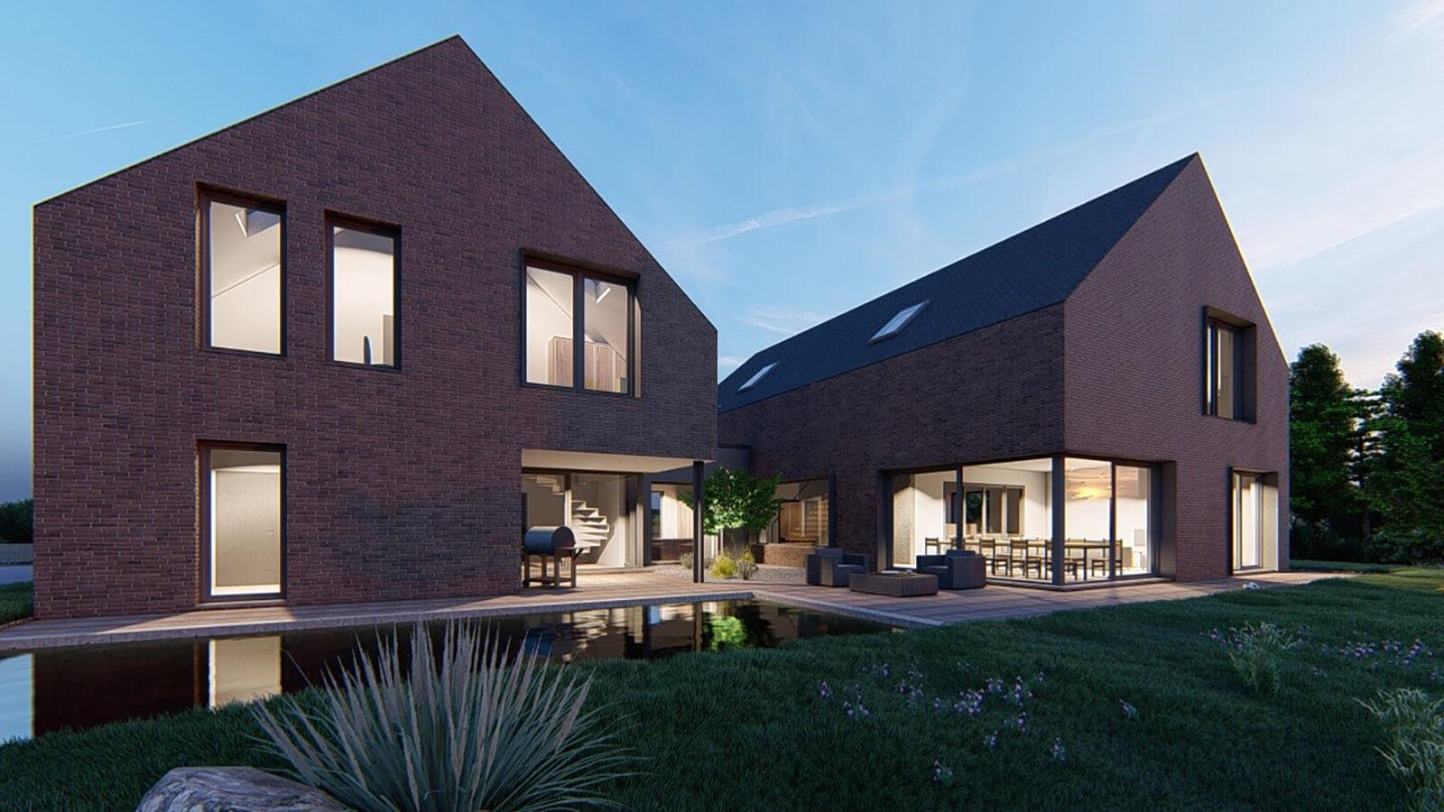 Visualisierung Wohnhaus